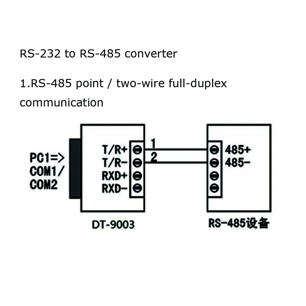 dt rs485 converter industrial