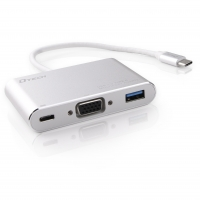 type-c to vga+usb3.0+pd