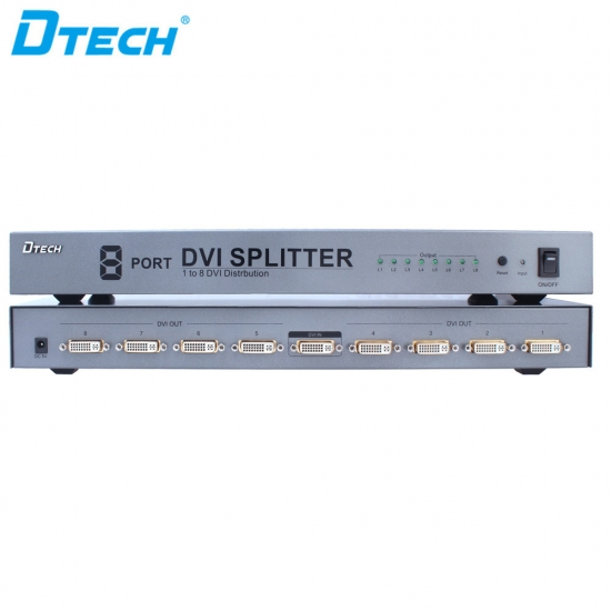 DVI splitter 1 to 8