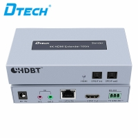 4k 1080p 3D hdmi repeater 100m over cat5e ir RS232 hdmi extender