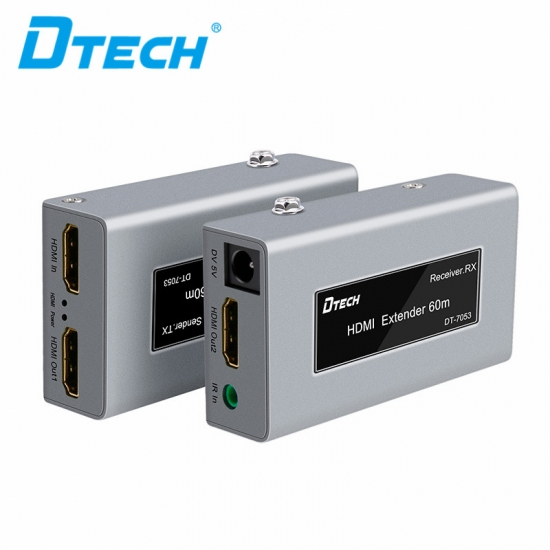 Latest DTECH DT-7053 HDMI Single Cat5e/6 Extender 60m Online