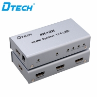 Latest DTECH DT-7144 4K*2K HDMI Splitter 1*4 Online
