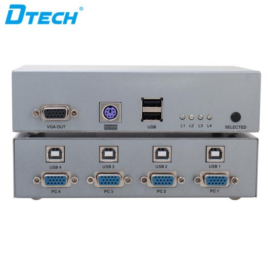 Latest DTECH DT-7017 KVM Switch 4X1 Online