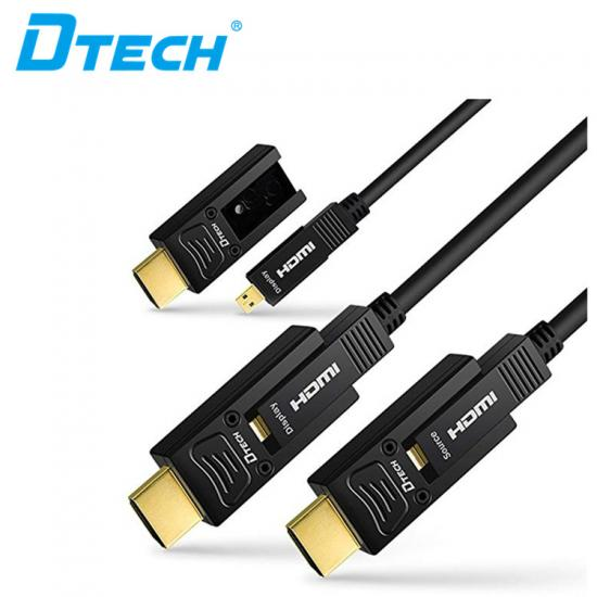High Quality DTECH DT-H311 HDMI typeD-A 16m fiber cable