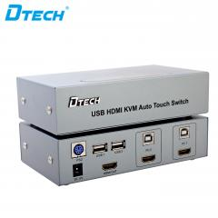 Hot Selling DTECH DT-8121 USB/HDMI KVM Switch 2 to 1