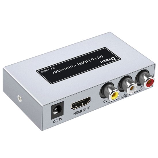 Latest DTECH DT-7005A AV to HDMI HD Converter Instructions Online