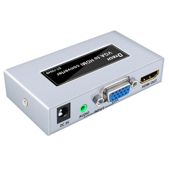 Latest DTECH DT-7004B VGA to HDMI HD Converter Instructions Online