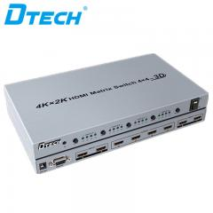 Hot Selling DTECH DT-7444 4K*2K HDMI MATRIX SWITCH 4*4