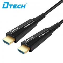 Top-selling DTECH DT-606 HDMI2.0 AOC fiber cable YUV444  15M
